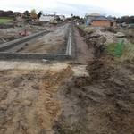 Gröberner Hauptstraße im Baugebiet %u201EGröberner Land%u201C