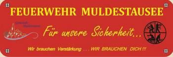 Feuerwehr Muldestausee - Freiwillige gesucht